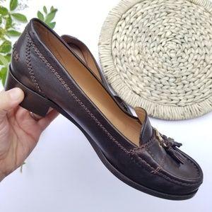 Ferragamo Genuine Leather Loafer Women's 7.5